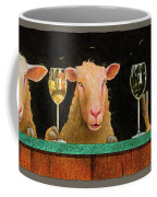 Three Sheeps To The Wind... Coffee Mug by Will Bullas