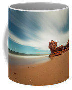 Thunder Cove Sea Arch And Flowerpot Rock Coffee Mug