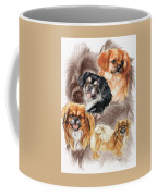 Tibetan Spaniel W/ghost Coffee Mug