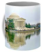 Tidal Basin With Cherry Blossoms Coffee Mug