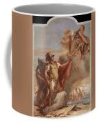 Tiepolo Villa Valmarana Venus Appearing To Aeneas On The Shores Of Carthage Giovanni Battista Tiepolo Coffee Mug