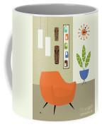 Tikis On The Wall Coffee Mug