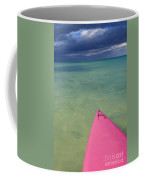 Tip Of Pink Kayak Coffee Mug