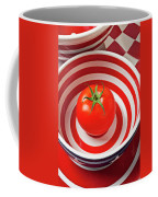Tomato In Red And White Bowl Coffee Mug