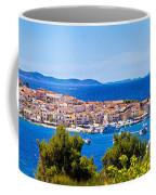 Town Of Primosten Panoramic View Coffee Mug