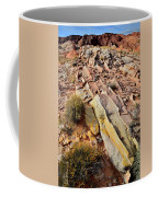 Tracks Of Color In Valley Of Fire Coffee Mug