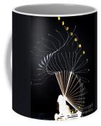Trebuchet Launching A Ball Coffee Mug