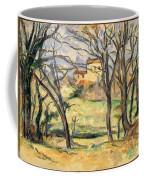 Trees And Houses Near The Jas De Bouffan Coffee Mug