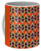 Triangles Pattern Coffee Mug