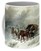 Troika In A Blizzard Coffee Mug