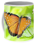Tropical Queen Butterfly Framing Image Coffee Mug