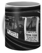 Truck With Right Wing Decal And Helldorado Days Poster Tombstone Arizona 1970 Coffee Mug