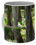 Two Baby Great Egrets And Nest Coffee Mug