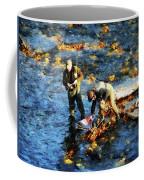 Two Men Fishing Coffee Mug