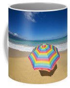 Umbrella On Beach Coffee Mug