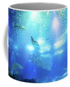 Undersea Deep Background Coffee Mug