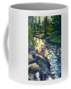 Up With The Fishes Coffee Mug