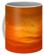 Upon A Sunset Flight Coffee Mug