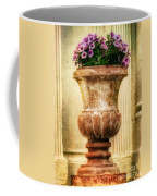 Urn With Purple Flowers Coffee Mug