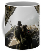 U.s. Army Green Berets Wait To Jump Coffee Mug