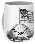 U.s. Flag, 19th Century Coffee Mug