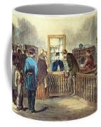 Va: Freedmens Bureau 1866 Coffee Mug
