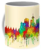 Vancouver B.c. Skyline Coffee Mug