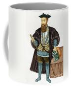 Vasco Da Gama, Portuguese Explorer Coffee Mug