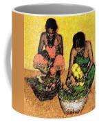 Vegetable Sellers Coffee Mug