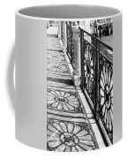 Venice Fence Shadows Coffee Mug