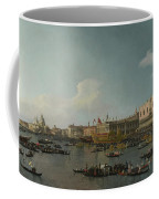Venice   The Basin Of San Marco On Ascension Day Coffee Mug
