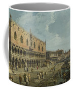 Venice   The Doges Palace And The Riva Degli Schiavoni Coffee Mug
