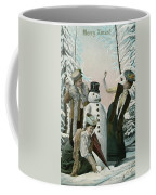Victorian Christmas Card Coffee Mug