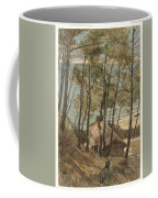 View From A Hill On A House On The Gulf Of Arcachon, August Allebe 1876 Coffee Mug