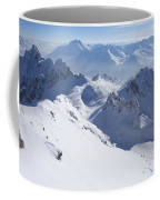 View From Summit Of Valluga, St Saint Anton Am Arlberg Austria Coffee Mug