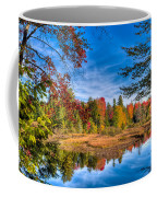 View From The Lock And Dam Trail Coffee Mug