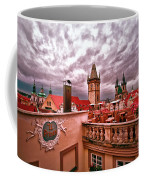 View From The Top In Prague Coffee Mug