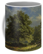 View In The Bentheim Forest, George Andries Roth, 1870 Coffee Mug