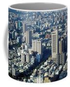 View Of A Crowded City Coffee Mug