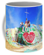 View Of Salvation Mountain Coffee Mug