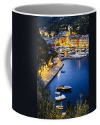 View Of The Harbour At Dusk  Portofino Coffee Mug