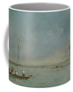 View Of The Venetian Lagoon With The Tower Of Malghera Coffee Mug