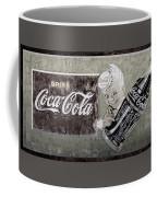 Vintage 1916 Hand Painted Coca Cola Sign Coffee Mug