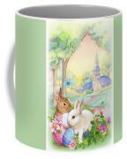 Vintage Easter Bunnies Coffee Mug