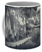 Vintage Photo Effect Medieval Arlington Row In Cotswolds Country Coffee Mug