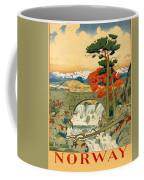 Vintage Poster - Norway Coffee Mug