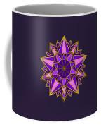 Violet Galactic Star Coffee Mug
