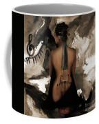 Violin Lady  Coffee Mug