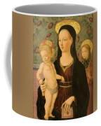 Virgin And Child With An Angel Coffee Mug
