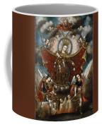 Virgin Of Carmel Saving Souls In Purgatory Coffee Mug